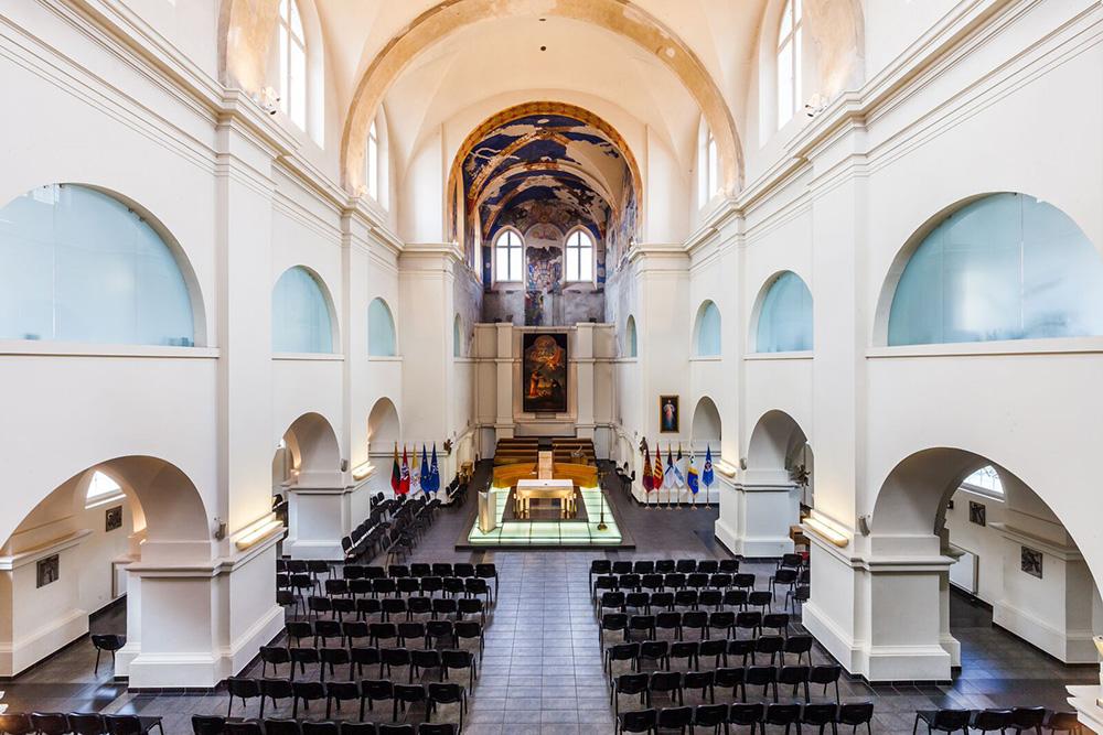 Church of St. Ignatius in Vilnius, Lithuania