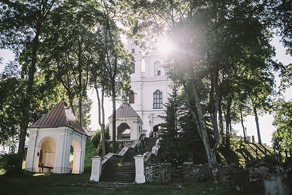The Church of the Discovery of the Holy Cross and Vilnius Calvary Way of the Cross